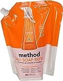 Method Dish Soap Pump Refill, Clementine - 36 oz