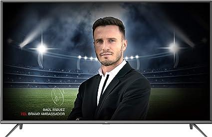 TCL 65EP640 Televisor 165 cm (65 Pulgadas) Smart TV con Resolución 4K UHD, HDR10, Micro Dimming Pro, Android TV, Alexa, Google Assistant [Clase de eficiencia energética A+]: Amazon.es: Electrónica