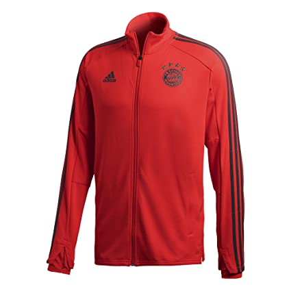 67deb1c0668 Image Unavailable. Image not available for. Color: adidas 2018-2019 Bayern  Munich Training Track Jacket ...