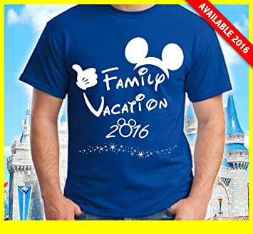 Disney Family Vacation T Shirts Matching Cute Mickey Red