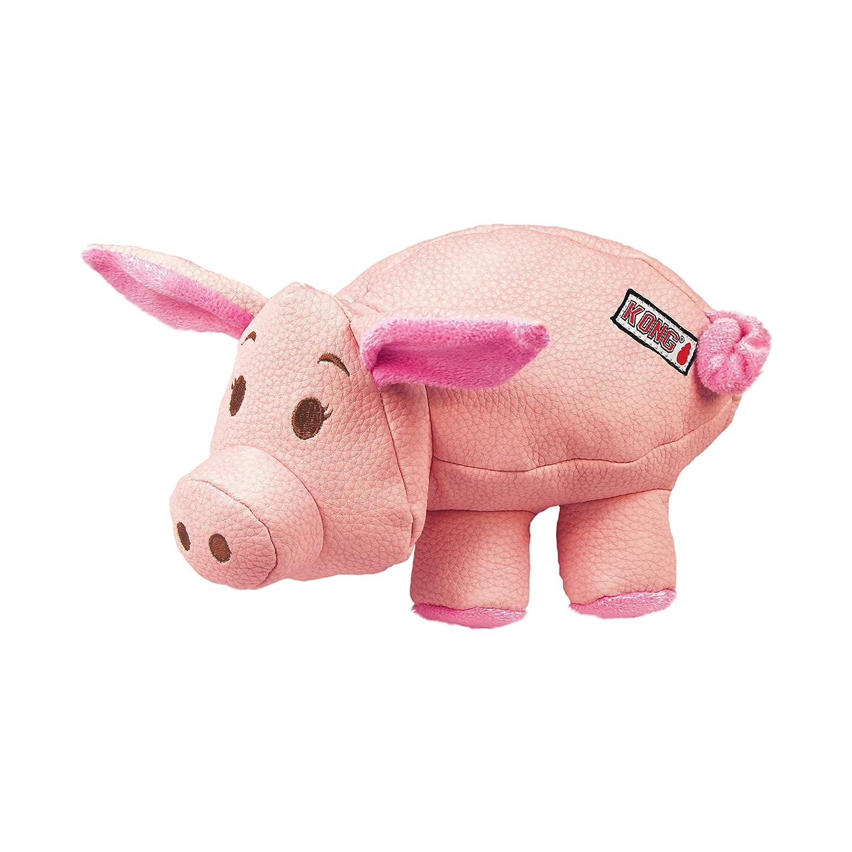KONG Phatz Pig Dog Toy, Medium