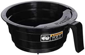 Bunn 20583.0003 Black Plastic Funnel with Decals