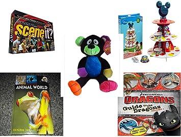 930720033b8 Amazon.com  Children s Gift Bundle - Ages 6-12  5 Piece  - Scene It ...