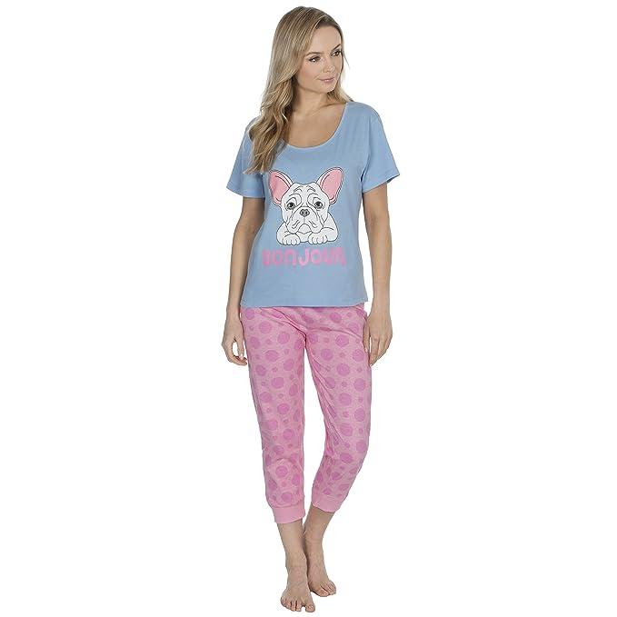 Forever Dreaming Pijama - para mujer Azul Blue Bulldog S