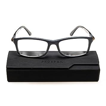 6c4b915961 PROSPEK - Gafas para ordenador Premium - Dynamic - Con filtro de luz azul y  antirreflejante (+0.00 Dioptrías | Gris | Grande): Amazon.es: Oficina y ...