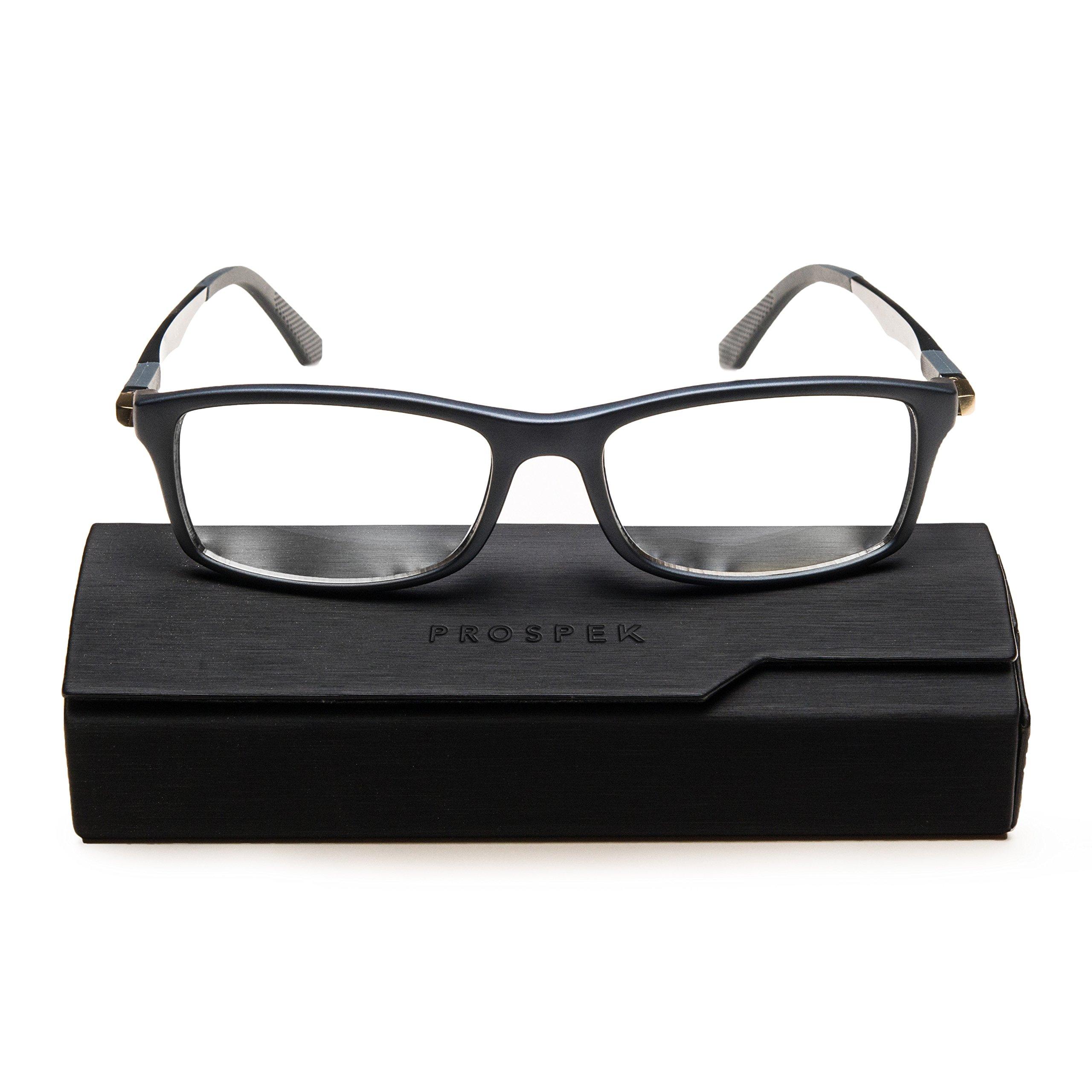 2b21481a3288 PROSPEK - Computer Glasses - Blue Light Blocking Glasses - Dynamic (+0.00  (No