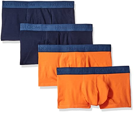 d70e653bc454 Fruit of the Loom Best-Buy Men's Trunk Underwear Pack (Packs of 2 and 4)