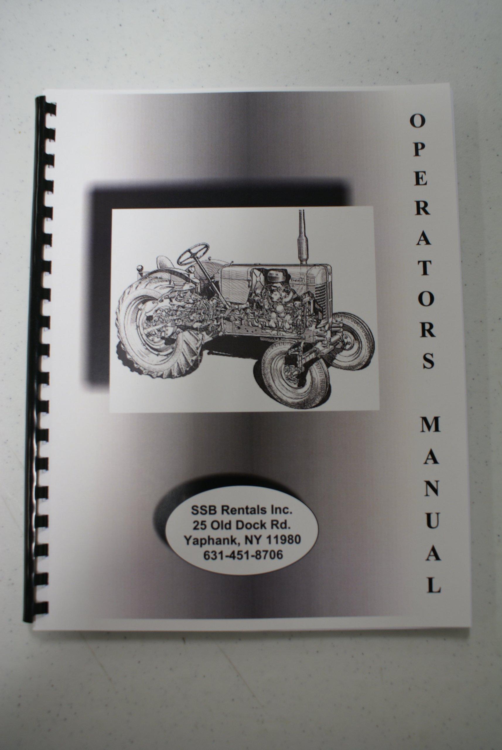 John Deere GT225 & GT235 Lawn & Garden Tractor (sn60001-90000) OEM Operators Manual