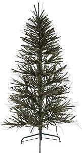 Vickerman 5' Vienna Twig Artificial Christmas Tree Unlit, Faux Christmas Tree, Seasonal Indoor Home Decor