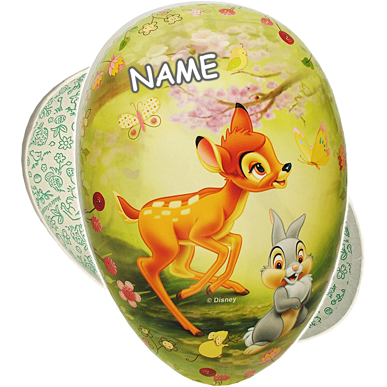 inkl Disney REH Bambi /& Hase Klopfer Pappei Deko Pappe Papp Pappeier Dekoei Pappostereier F/üllen // Papp.. Osterei // Ei zum bef/üllen alles-meine.de GmbH F/üll 18 cm Name