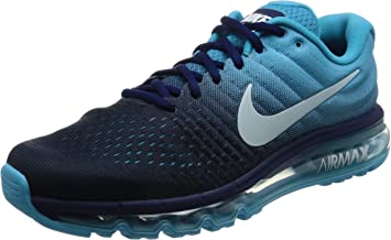 Nike Air Max 2017 Chaussures de Course Homme, Turquoise