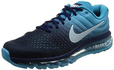 innovative design 1914c 2298f Nike New Men's Air Max 2017, Binary Blue/Glacier Blue, Size ...