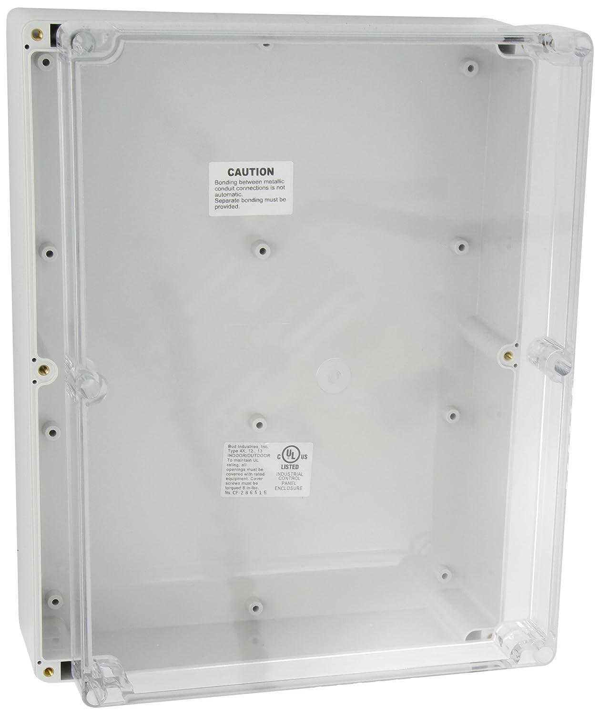 """Indoor Outdoor 3/"""" x 6/"""" x 9/""""  New Industrial Control Panel Enclosure"""