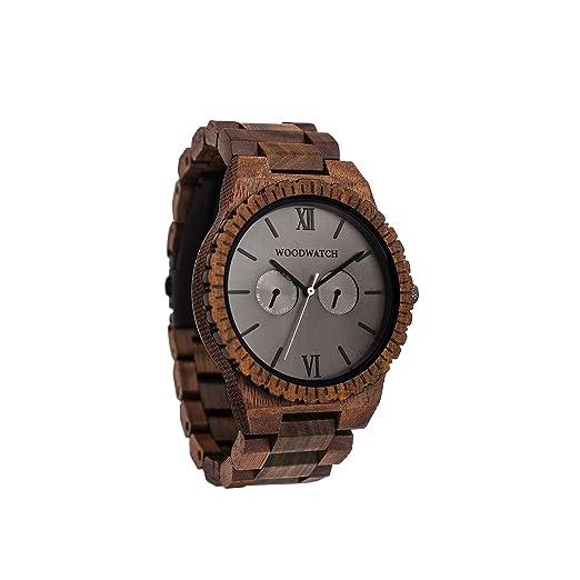 Madera Reloj hombre | Urban Jungle | Relojes de madera natural | la Wood Watch Relojes de madera oficial: Amazon.es: Relojes