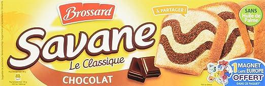 Gateaux brossard savane chocolat