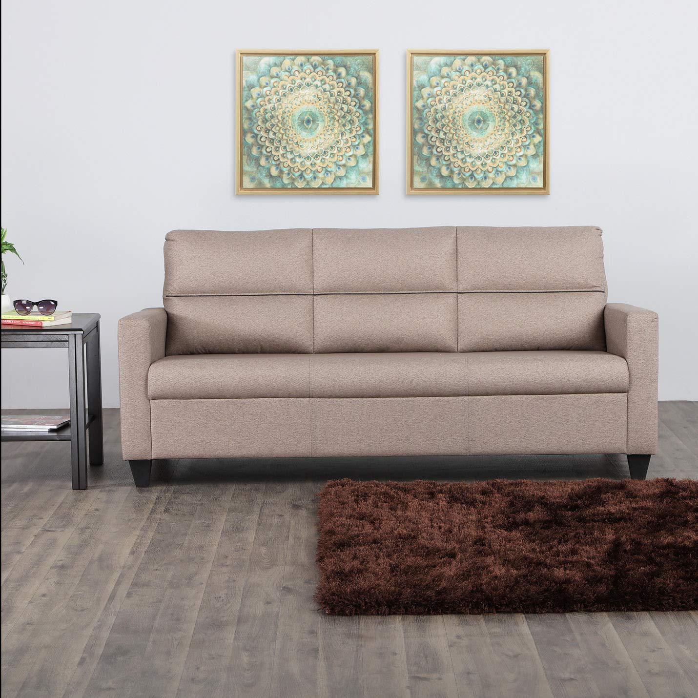 Home Centre Clary Three Seater Sofa