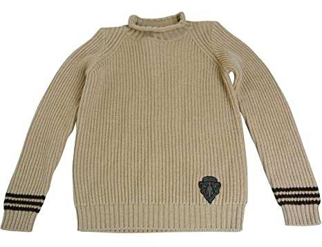 bedacbcbb04 Amazon.com: Gucci Unisex Brown Wool Crew Neck Sweater Top Jumper ...