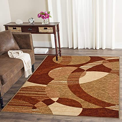 Cloth Fusion Premium Quality Made in Egypt Carpet for Living Room (4x6 Feet)
