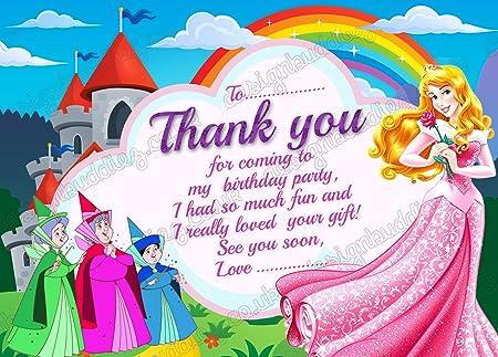 Disney Princess Aurura dormir belleza fiesta de cumpleaños ...