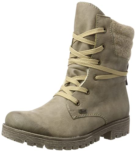 Womens 78531 Ankle Boots, Beige, 3.5 UK Rieker