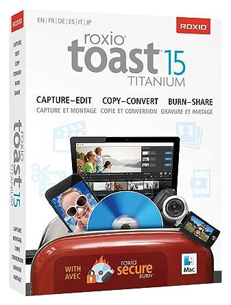 Roxio Toast 15 Titanium (Mac): Amazon co uk: Software