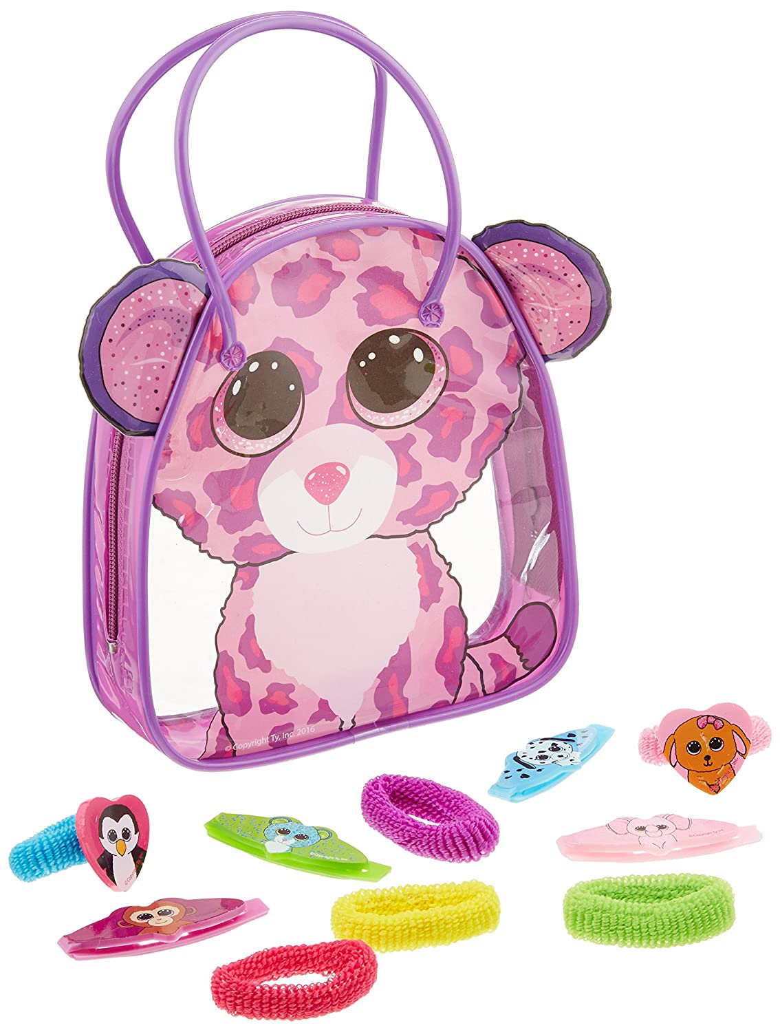 Amazon.com  Koehler 12010575 15 Inch Glamour The Leopard Beanie Boo Bag  Set  Home   Kitchen 9c775439656