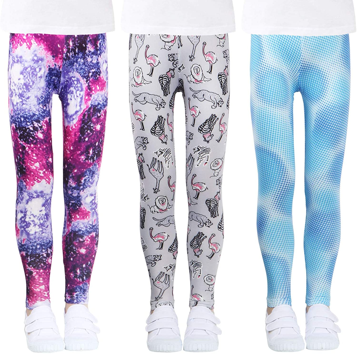 Beautiful Galaxy Kids Capri Leggings