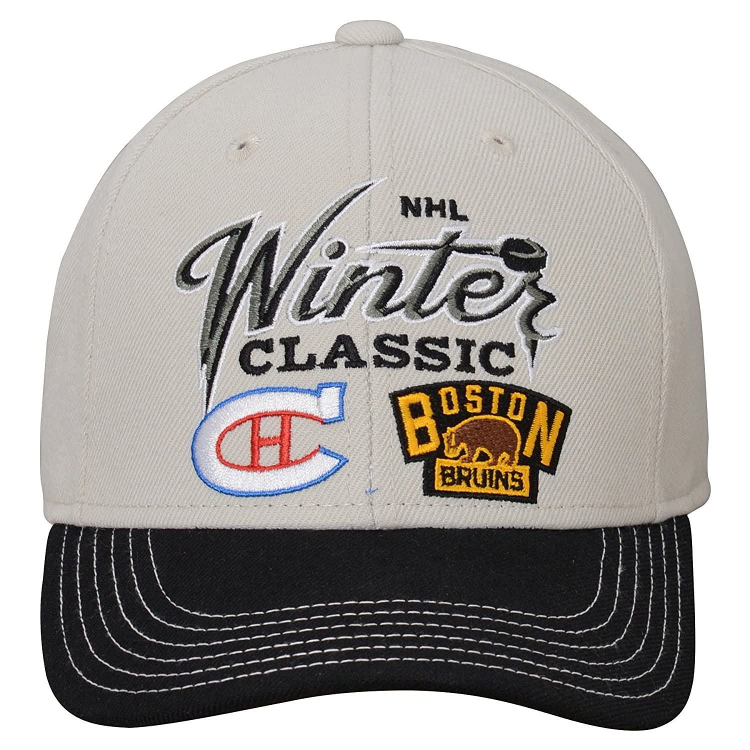 2e74219b3f8 Amazon.com   NHL Dueling All Star Youth 8-20 Dueling Structured Adjustable  Cap
