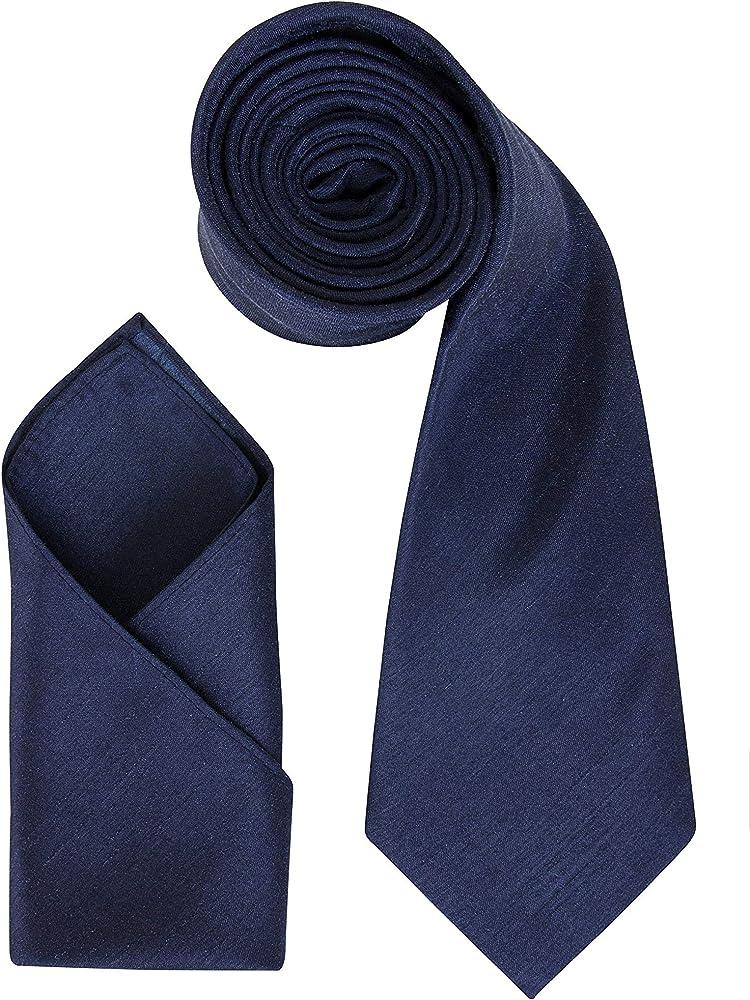 El conjunto de corbata de boda para hombre de DressCode: pañuelo ...