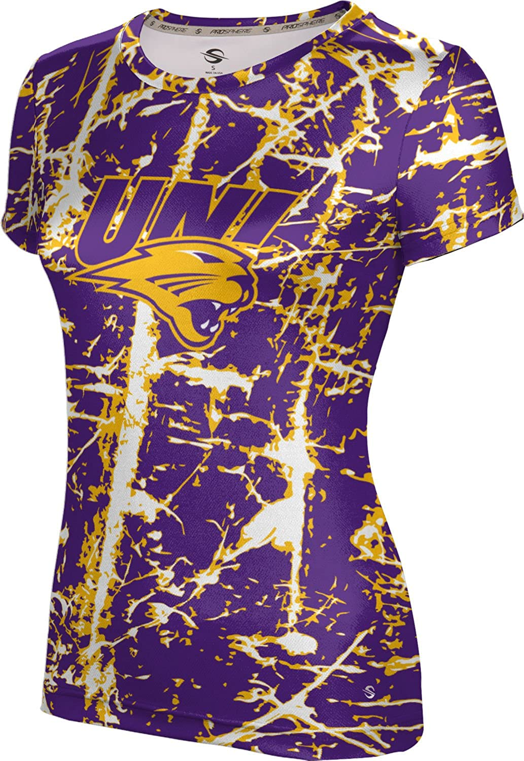 Distressed ProSphere University of Northern Iowa Girls Performance T-Shirt