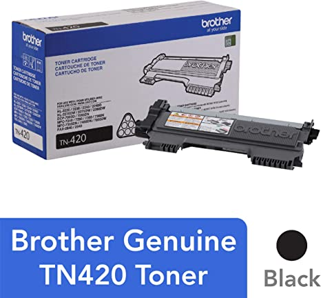Amazon.com: Brother TN420 - Cartucho de tóner para impresora ...