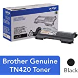 Brother TN-420 DCP-7060D IntelliFax-2840 2940 HL-2220 2230 2240 HL-2270 2275 MFC-7240 7360 7460 7860 Toner Cartridge (Black) in Retail Packaging