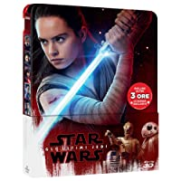 Star Wars: Gli Ultimi Jedi (Steelbook) (3 Blu-Ray 3D + 2D) [Italia] [Blu-ray]