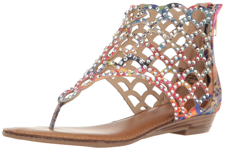 ZIGIny Women's Melaa Heeled Sandal B01MT8L4D2 8.5 B(M) US Pink/Multi a