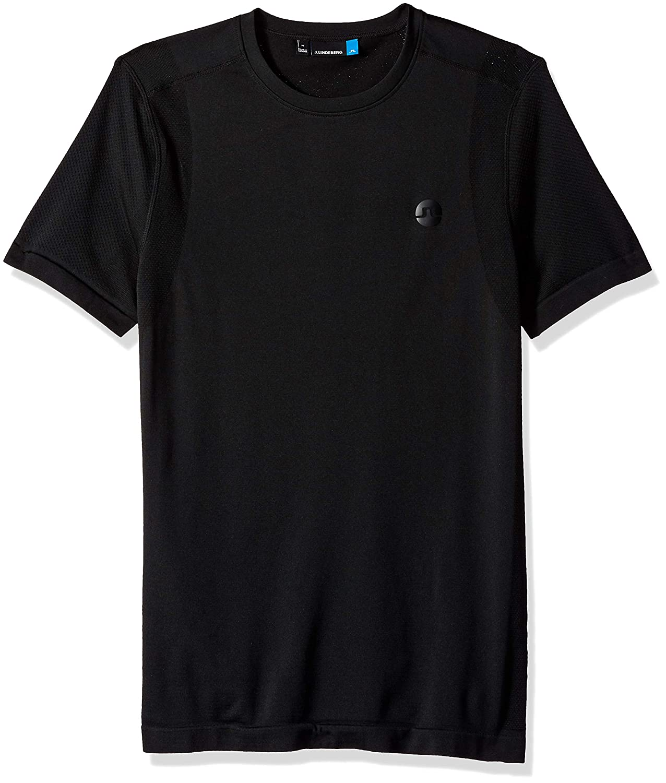 J.Lindeberg Men's Lightweight Seamless T-Shirt 82MA539005357