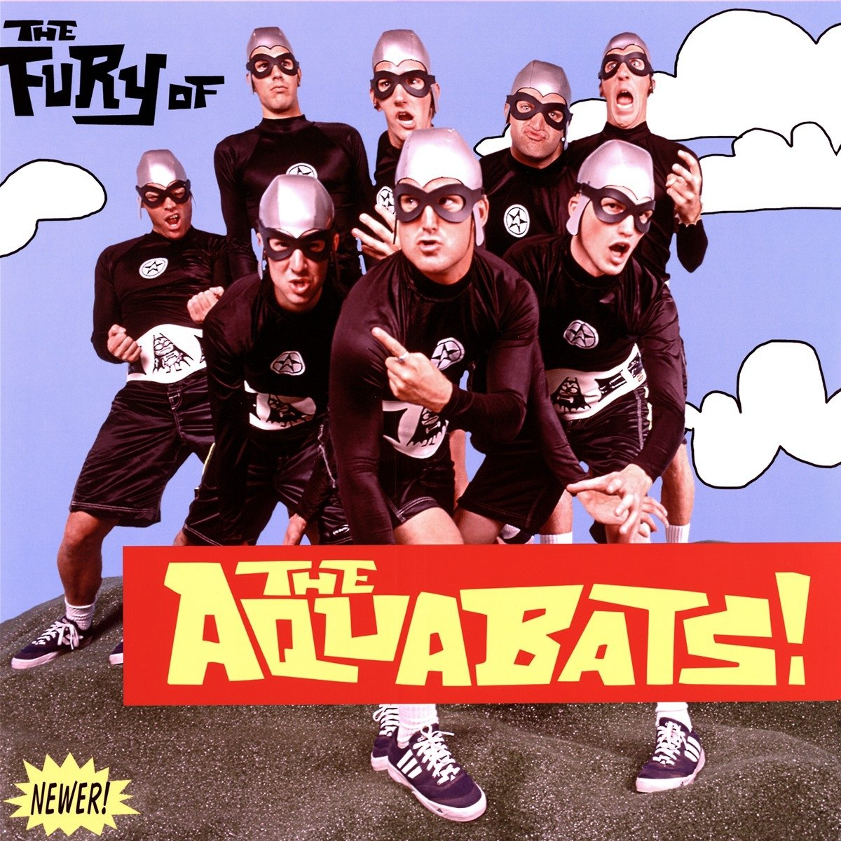 The Aquabats - The Fury Of The Aquabats (Expanded 2018 Remaster) (2 LP,  Neon Green Vinyl) - Amazon.com Music