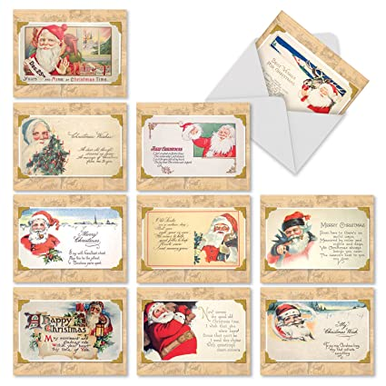 Amazon 10 assorted christmastime rhymes seasons greetings 10 assorted christmastime rhymes seasons greetings cards with envelopes mini 4 x m4hsunfo