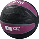 SPRI Xerball Medicine Ball Thick Walled Durable Construction with Textured Surface (Available in 2, 4, 6, 8, 10, 12, 15…