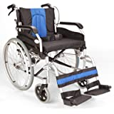 Lightweight Aluminium folding self propel Wheelchair with 20-inch extra wide seat ECSP01-20
