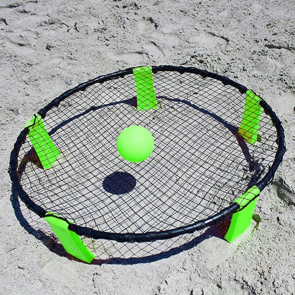 YUYON Beach Volley Ball,Mini Portable Beach Volleyball Training Aid,Suitable For Outdoor Beach Games,Blue
