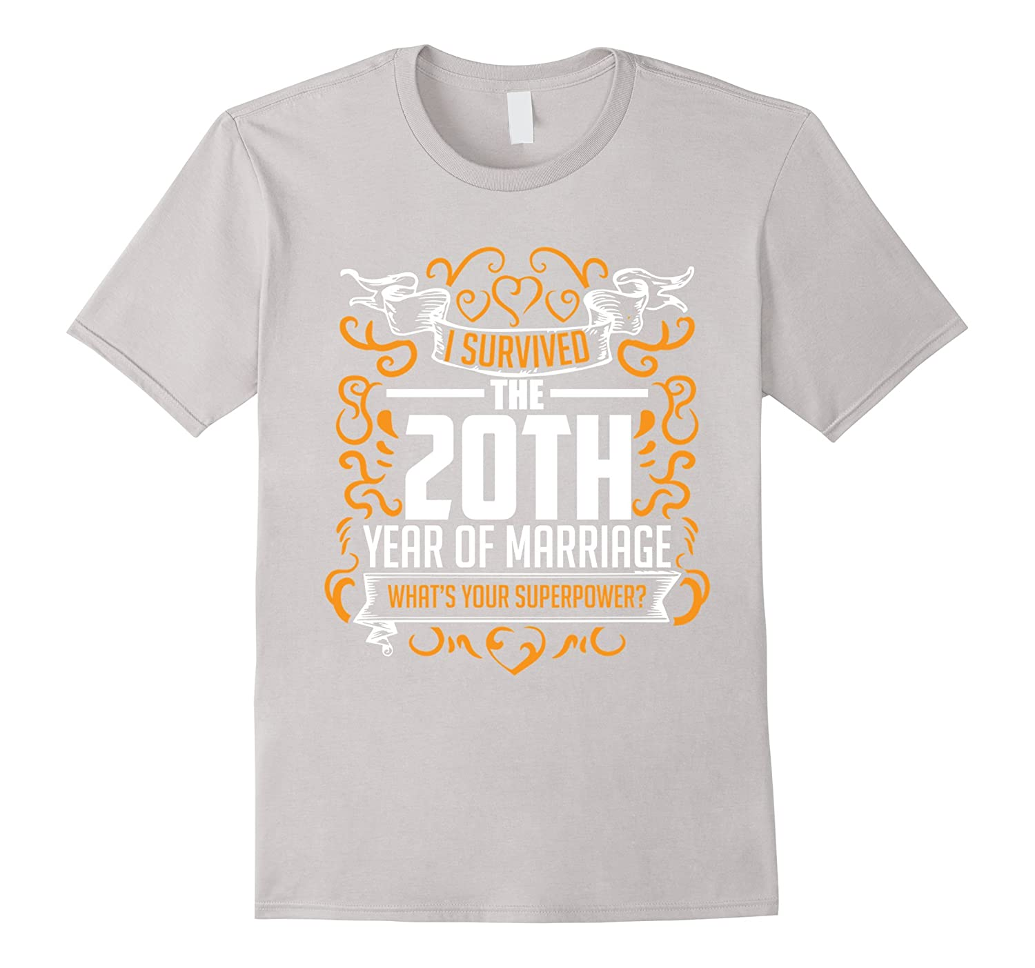 20th Wedding Anniversary Gifts 20 Year T Shirt For Her Him – Beckkam