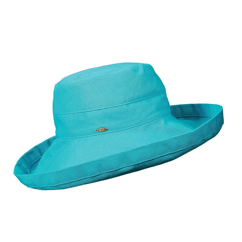 Scala UV Scala UPF 50 Plus Hut – Sombrero para mujer, color Azul, talla Talla única