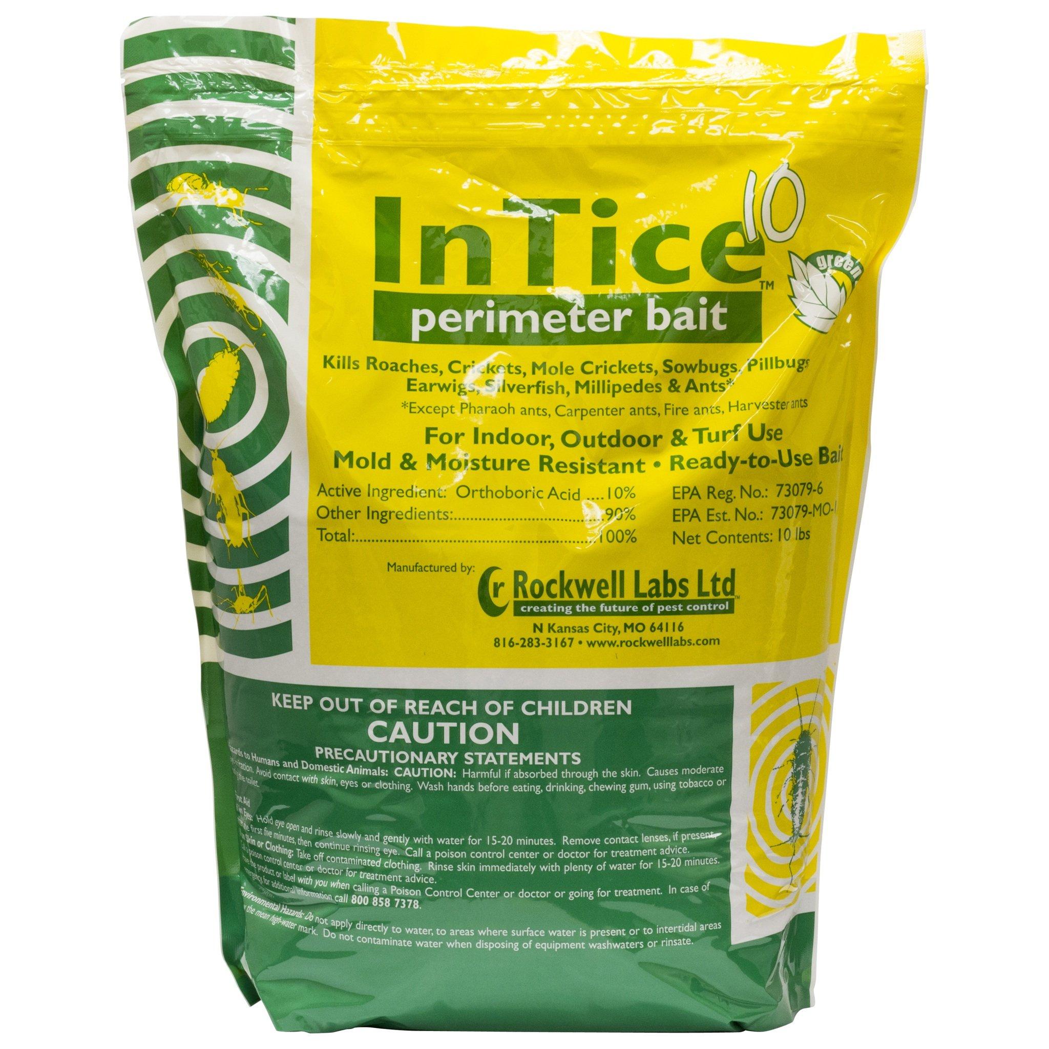 InTice 10 Perimeter Bait Ant and Roach Killer 10 Lb. Bag