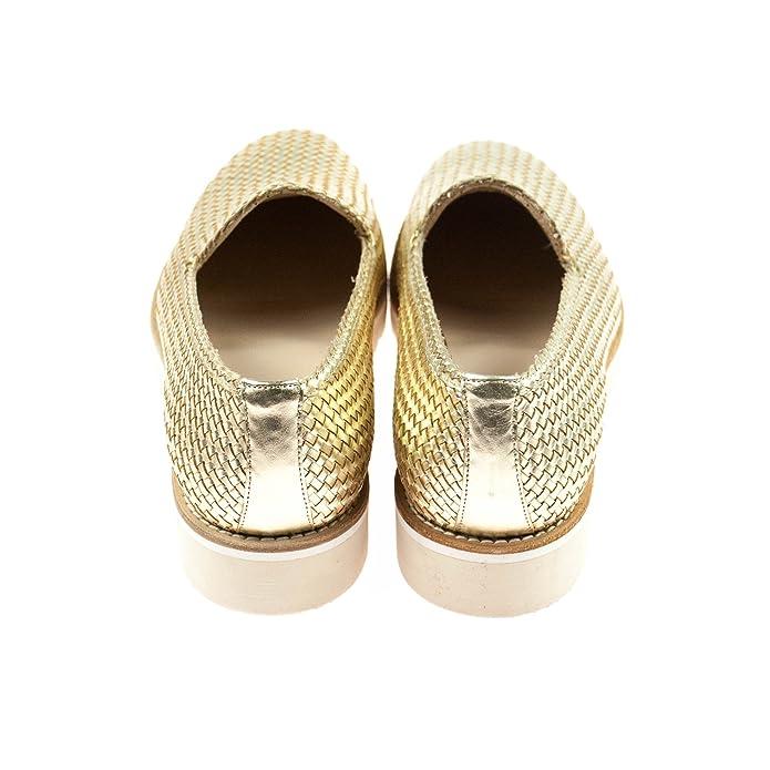 Pertini Zapatilla Baja Mujer, Color Dorado, Talla 40 EU: Amazon.es: Zapatos y complementos