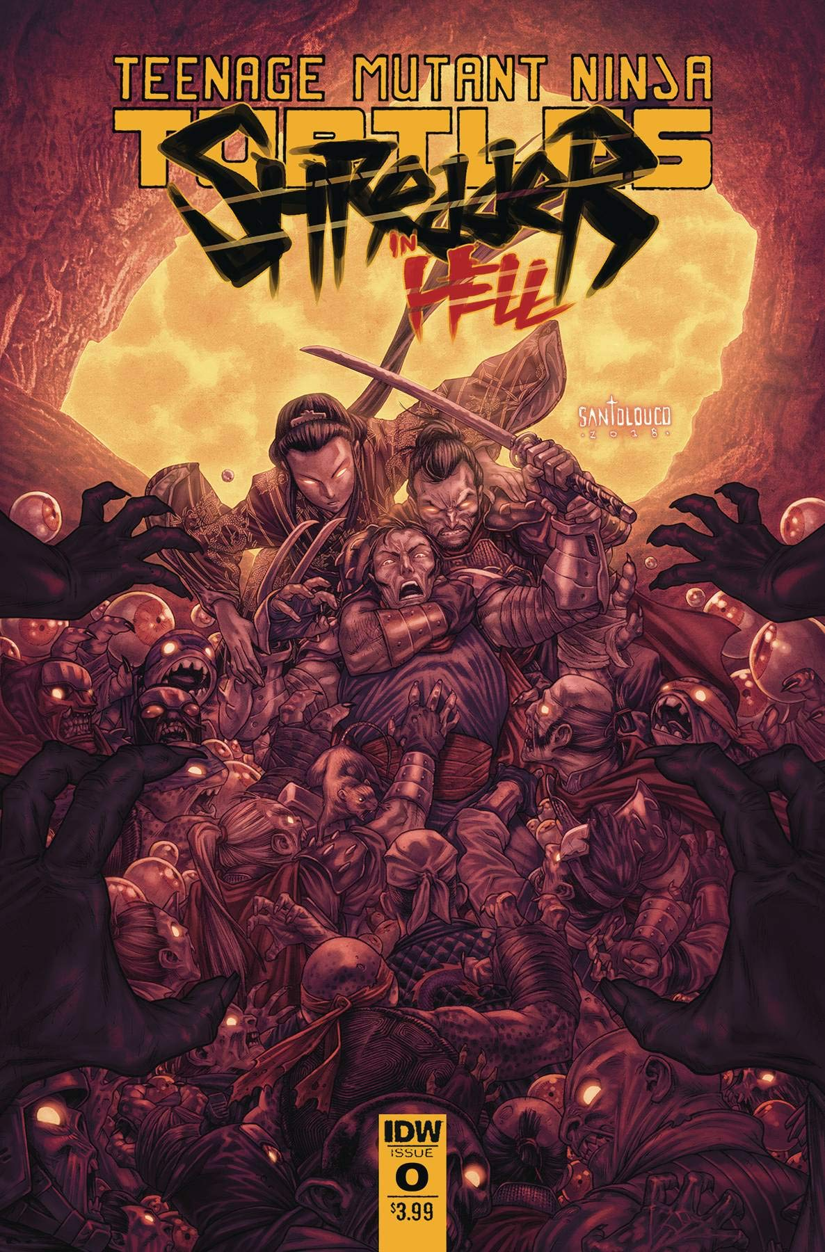 Tmnt Shredder In Hell 2 Cover A Amazon Com Books