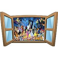 Stickersnews 1019 - Vinilo de Disney, 80x48cm