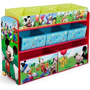 Delta Children Disney Planes Collapsible Storage Ottoman Kids Storage Box Chest