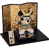 ミッキー武者 陶器 五月人形 兜飾り 兜 ミニ ポストカード特典付オリジナル五月人形