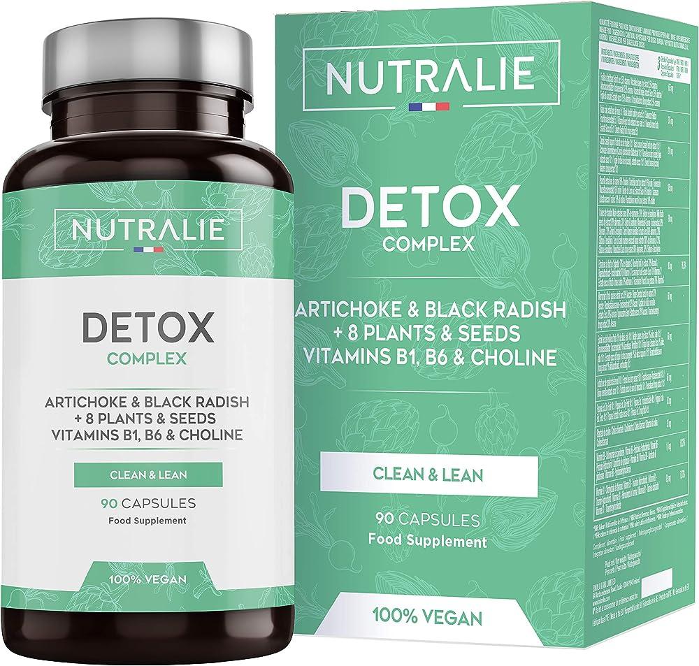 Detox forte fegato | piano detox dimagrante e antiossidante vegano | carciofo, ravanello nero, vitamine