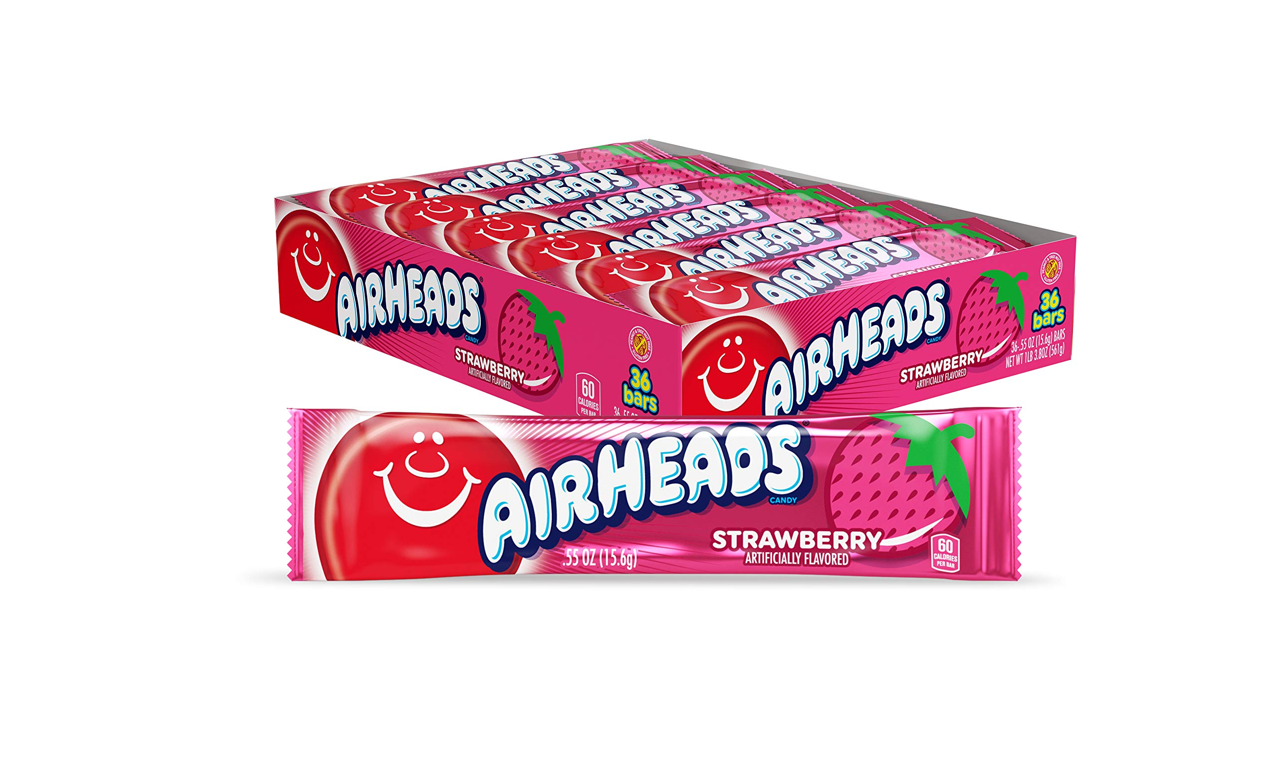 AirHeads Strawberry Artificially Flavoured Candy 16 g